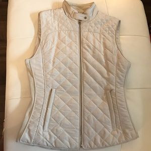 Zara quilted Vest Small
